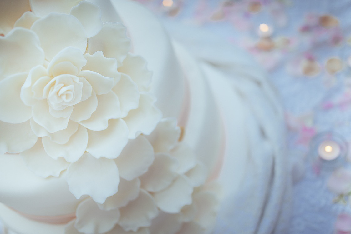 matrimonio in casa wedding cake